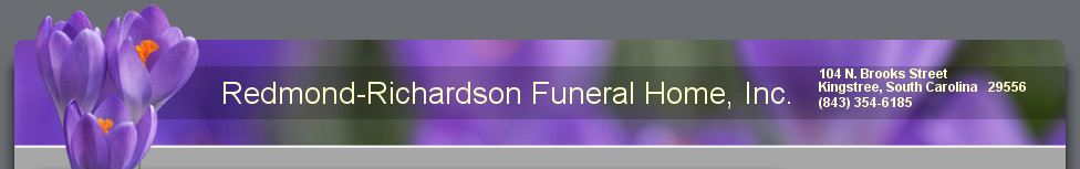 Redmond-Richardson Funeral Home, Inc..